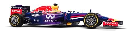 Гоночный автомобиль Red Bull RB10 дебютировал на тестах в Испании