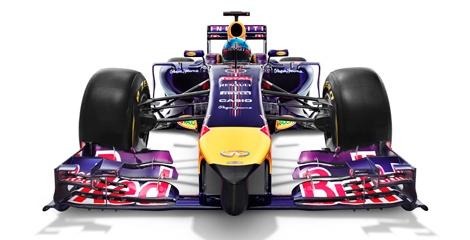 Гоночный автомобиль Red Bull RB10 дебютировал на тестах в Испании. Фото 4