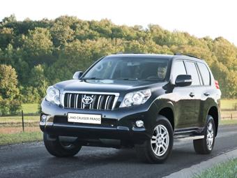 Toyota отзовет в России 200 внедорожников Land Cruiser Prado