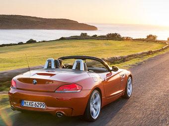 Следующий BMW Z4 сделают на 200 килограммов легче
