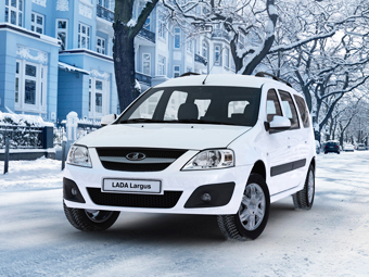 Lada Largus получит дизайн в стиле концепта XRay через два года