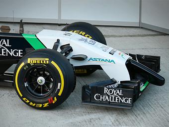 Нос болида Force India оказался самым длинным в Формуле-1