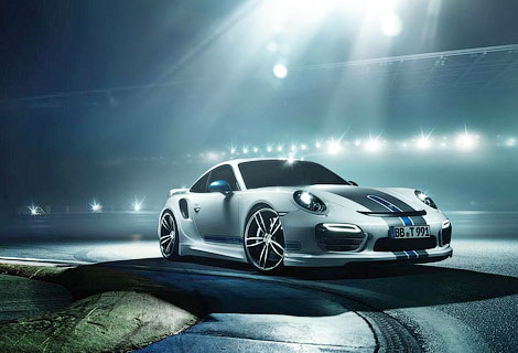 Спорткар Porsche получил новый обвес кузова и доработанный мотор