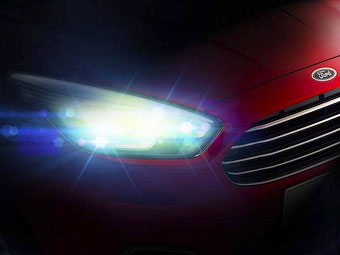 Ford показал кусочек новой глобальной модели