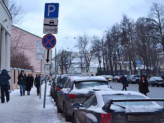 Платные парковки выведут за Садовое кольцо в 2014 году