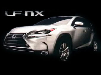 Lexus рассекретил дизайн компактного кроссовера