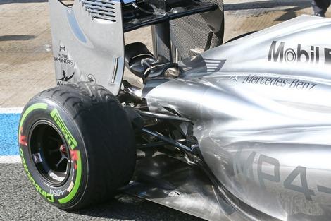 Команда Формулы-1 нашла способ использовать элементы подвески в аэродинамических целях. Фото 1