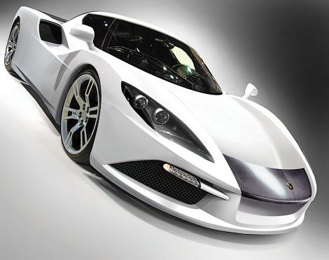 Компания Arash готовится к дебюту нового суперкара. Фото 1