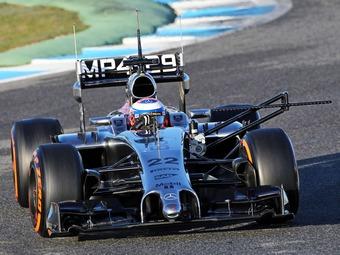 Болид McLaren превзошел всех конкурентов на тестах Формулы-1