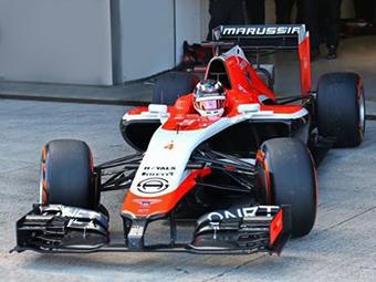Marussia привезла новый болид на тесты Формулы-1