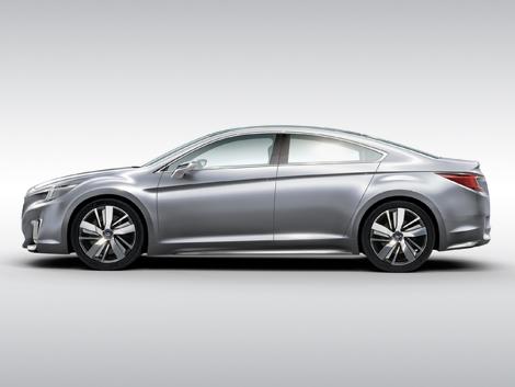 Дебют Subaru Legacy следующего поколения состоится в начале февраля