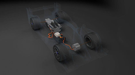 Японский производитель опубликовал первые снимки гоночного автомобиля категории LMP1