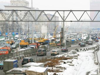 Москва сделает проезд по Ленинградскому шоссе платным