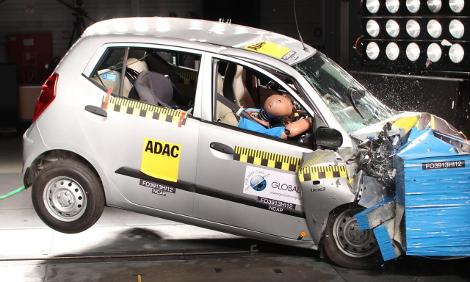 Организация Global NCAP провела краш-тесты пяти малолитражек