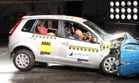 Организация Global NCAP провела краш-тесты пяти малолитражек. Фото 2