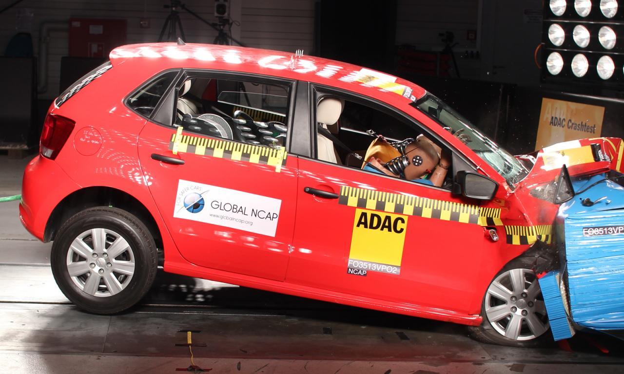 Организация Global NCAP провела краш-тесты пяти малолитражек. Фото 3