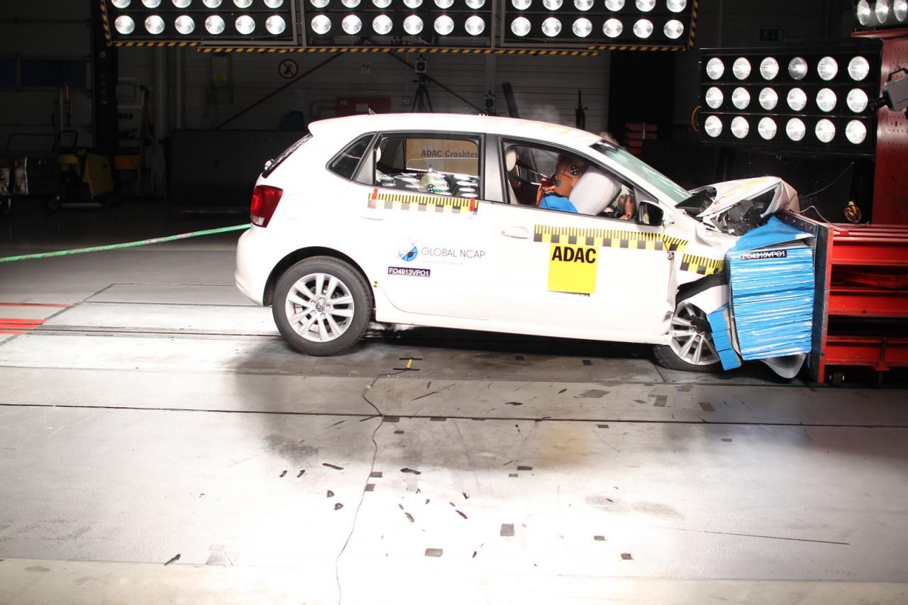 Организация Global NCAP провела краш-тесты пяти малолитражек. Фото 4
