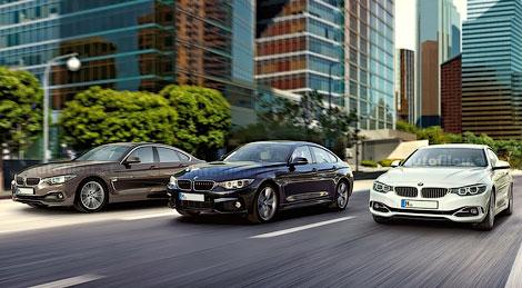 Опубликованы фотографии модели BMW 4-Series Gran Coupe