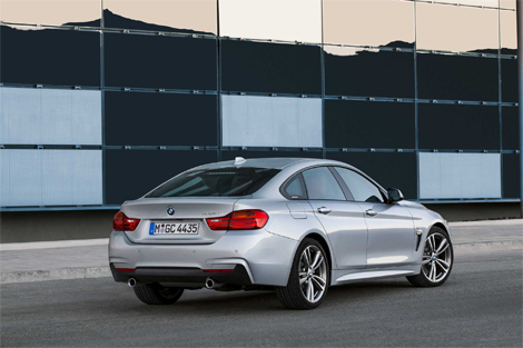 Компания BMW рассекретила 4-Series Gran Coupe