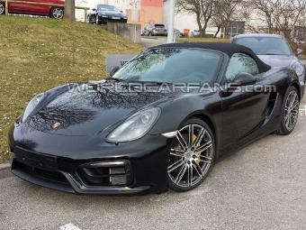 Экстремальный Porsche Boxster сфотографировали без камуфляжа