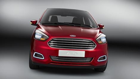 В Индии дебютировал концепт-кар Ford Figo. Фото 3