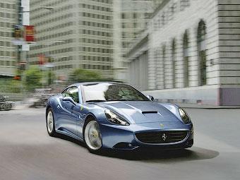 Названа дата премьеры новой Ferrari California