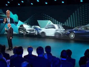 Daimler показал тизер нового Smart fortwo