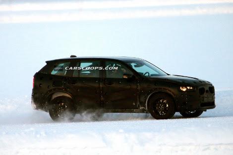 Фотошпионы засняли тестовый прототип модели на испытаниях в Швеции. Фото 1