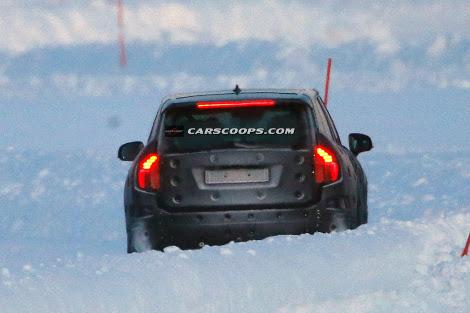Фотошпионы засняли тестовый прототип модели на испытаниях в Швеции. Фото 2
