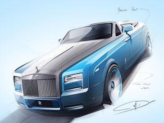 Rolls-Royce посвятит особый Phantom 77-летнему рекорду скорости