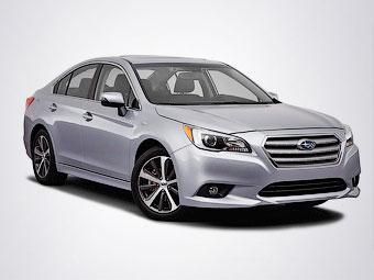 В Сеть попали официальные фотографии нового Subaru Legacy
