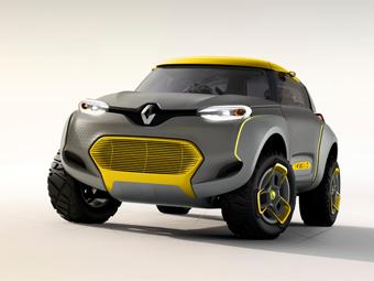 """Компания Renault показала концепт-кар с """"летающим компаньоном"""""""