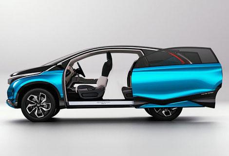 В Индии дебютировал концепт-кар Honda с тремя рядами кресел
