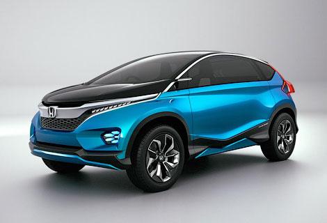 В Индии дебютировал концепт-кар Honda с тремя рядами кресел. Фото 4