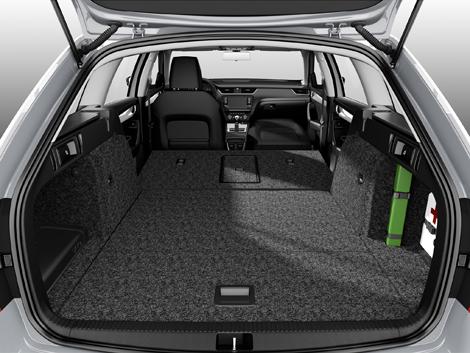 Универсал Octavia предложат с тремя бензиновыми и одним дизельным мотором. Фото 1