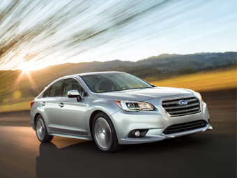Седан Subaru Legacy сменил поколение