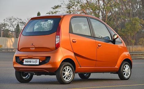 Индийский производитель подготовил концептуальный вариант микролитражки Nano. Фото 1