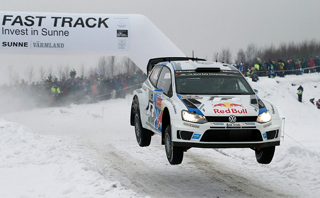 Пилоты Volkswagen устроили битву за победу на Ралли Швеции