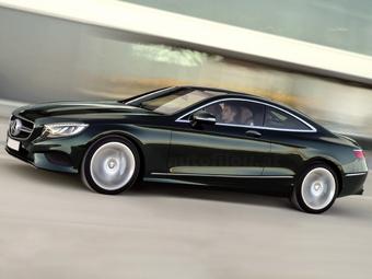 В Сети раскрыли внешность купе Mercedes-Benz S-Class