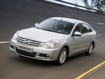 Седан Nissan Almera вошел в десятку бестселлеров России