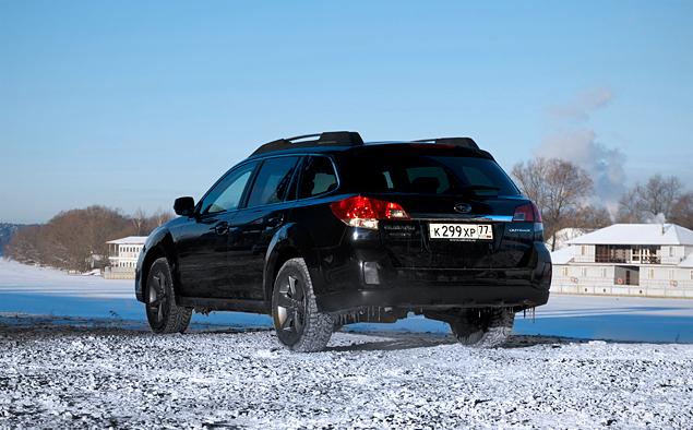 Длительный тест Subaru Outback: знакомство и первые впечатления. Фото 2