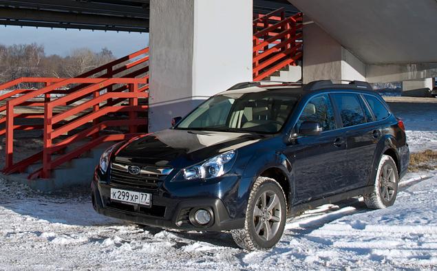 Длительный тест Subaru Outback: знакомство и первые впечатления. Фото 4