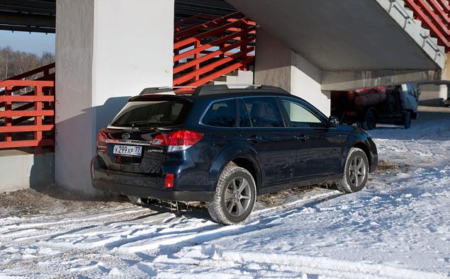 Длительный тест Subaru Outback: знакомство и первые впечатления. Фото 5