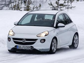"""Opel приступил к тестам """"заряженной"""" версии Adam"""
