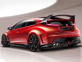 Honda показала первое изображение нового Civic Type R