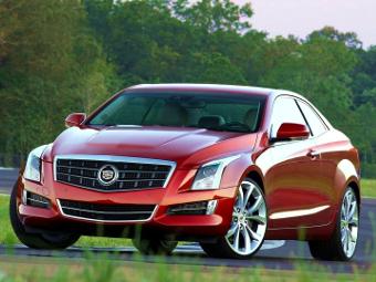 В Европе Cadillac оставит купе ATS без мотора V6