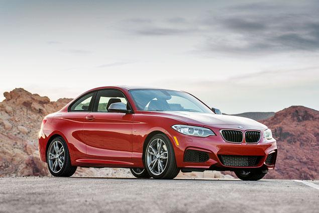Первый тест маленького купе BMW 2 Series. Фото 2