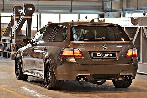 Ателье G-Power построило 820-сильный универсал BMW M5. Фото 1