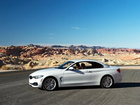 Кабриолет BMW 4-Series будет предлагаться в России с тремя моторами