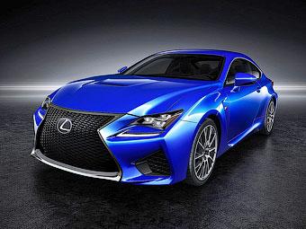 Lexus научил «заряженное» купе RC F экономить топливо